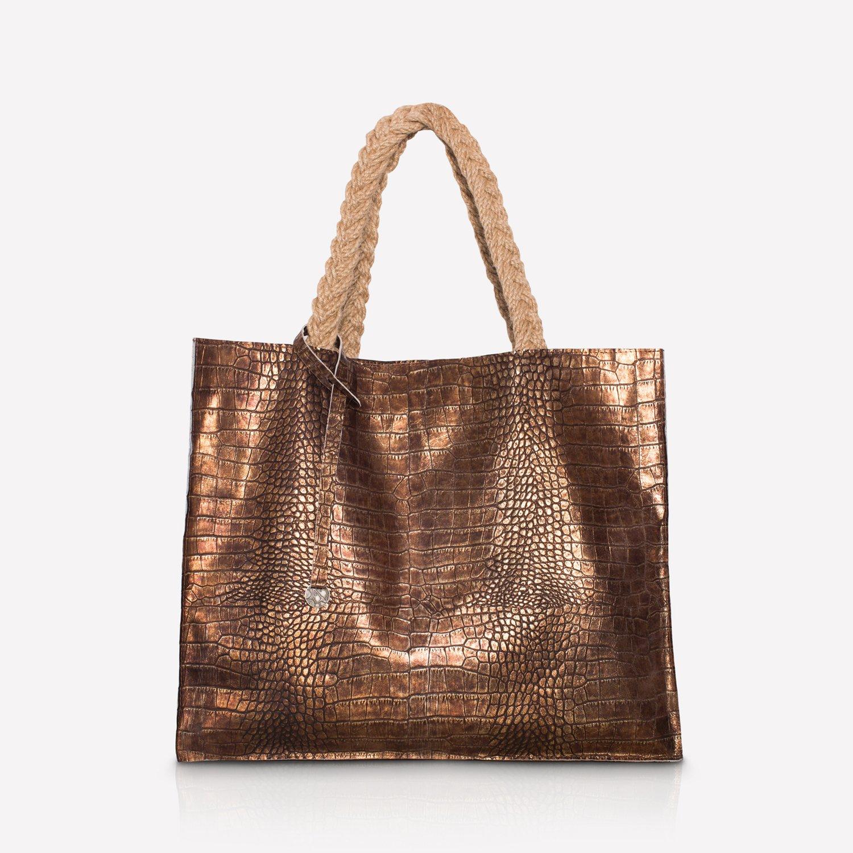 1314eff6bc274 Leather shopper bag