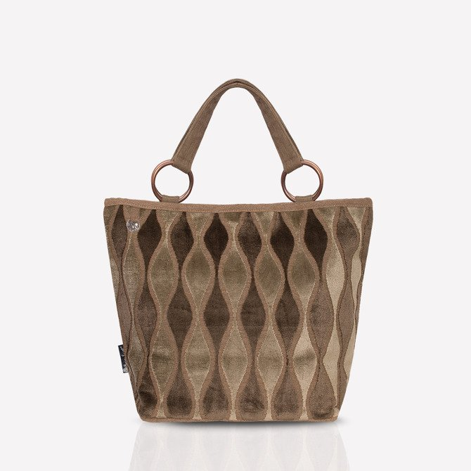 Shopper bag NO.125 khaki, olive green